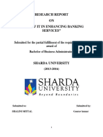 ROLE OF IT IN ENHANCING BANKING SERVICES Marketing Research Sharda 2016.docx
