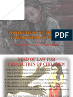 protection of children from sexual offences