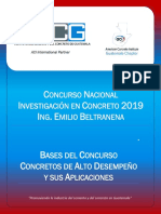 BASES CONCURSO Investigacin en Concreto 2019