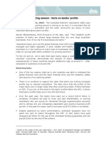 20101103 Reporting Season Facts on Bank Profits