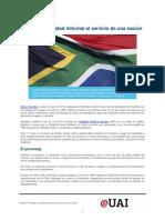 Mandela Autoridad Informal Al Servicio de Una Nacion