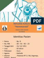 laporan kasus Haemorhoid