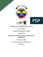 Tecnoligia Informatica Ciclo IV