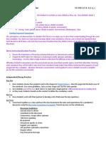 reading response lesson plan