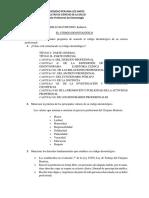 Cuestionario codigo deontologico