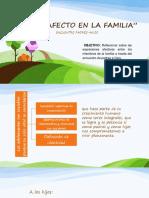 Taller Afectividad y Familia