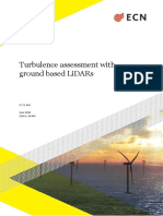 Turbulence Assessment With Lidars