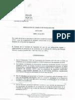 Calendario Académico 2019-1Presencial Medellín