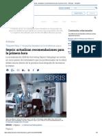 Sepsis_ Actualizan Recomendaciones Para La Primera Hora - Artículos - IntraMed