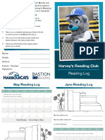 Harvey's Reading Club - 2019 Reading Log