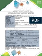 Guía Para El Desarrollo Del Componente Práctico - Tarea 6 - Componente Práctico Presencial