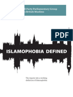 Islamophobia Defined