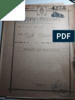 Legajo Personal Del Teniente Coronel Don Adolfo Espindola