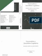 Paulo Magalhães Araújo - Relação Executivo-Legislativo e Produção Legislativa na ALMG