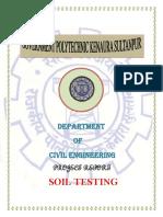 Ashutosh Soil Test
