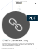 10 ways to overcome test anxiety   the princeton review