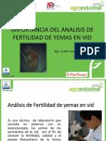 fertilidad de yemas