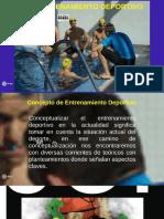 Conceptualizacion Del Entrenamiento Deportivo