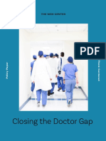 Closing the Doctor Gap