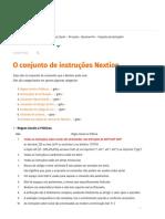 Conjunto de Instruções - Nextion