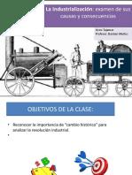 revolucion industrial primero medio