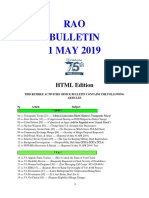 Bulletin 190501 (HTML Edition)