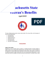 Vet State Benefits - MA 2019