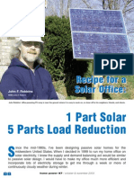 1 Part Solar 5 Part Solar Reduction