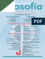 Afiche Promocion Maestria y Doctorado Filosofia-1
