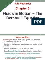 ME233 Chap3 Fluid Flow - Bernoulli Equation.pptx