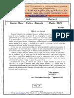 Dzexams 3as Francais Al t3 20181 599906
