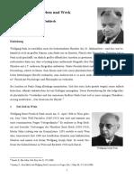 Wolfgang Pauli Leben Und Werk