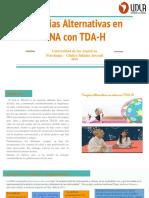 Terapias Alternativas en Niños Con TDA-H