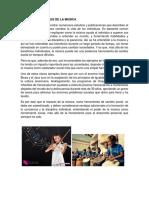 Beneficios Sociales de La Musica