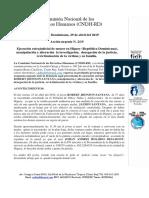 Accion Urgente CNDH-RD 02-2019 | Ejecución extrajudicial de menor en Higuey