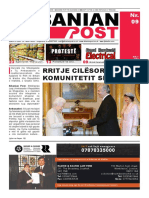 Albanian Post - MAJ