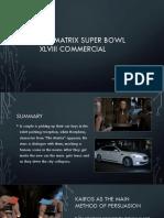 matrix ad