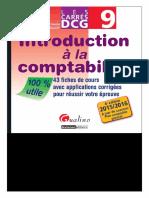 Béatrice Grandguillot, Francis Grandguillot-DCG 9 Introduction à la comptabilité 2015-2016 _ 43 fiches de cours avec applications corrigées pour réussir votre épreuve-Gualino Editeur (2015).pdf