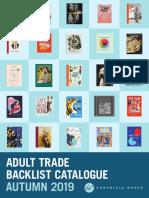 Autumn 2019 Chronicle Books UK Adult Backlist
