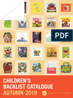 Autumn 2019 Chronicle Books UK Children's Backlist