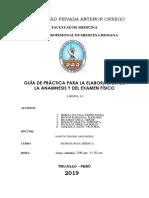 Guia de Prácticas semiología Médica 2019