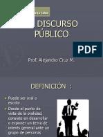 EL DISCURSO PÚBLICO.ppt