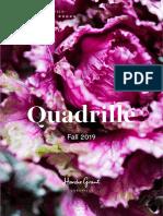 Fall 2019 Quadrille Catalog