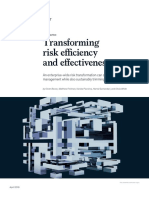 Transforming Risk Efficiency and Effectiveness VF