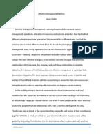 effective management platform