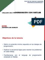 ING215 Taller Matlab 2019-1