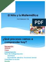El Niño y La Matemática Clase Categorización