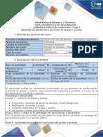 Guía de Actividades y Rubrica de Evaluación Unidad 3 Distribución de Planta