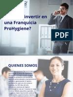 ProHygiene Modelo de Negocio - Version Español