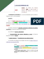 Decreto-lei Nº 2.321, De 25 de Fevereiro de 1987 - Regime de Administraçao Temporária Ifinan
